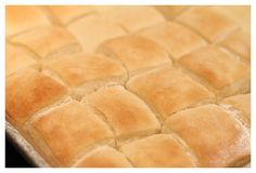 School Cafeteria Yeast Rolls on http://www.angiessouthernkitchen.com