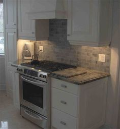 stone perfect for small kitchen spaces  Stone Edge