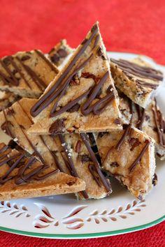 Chocolate Chip Cookie Brittle - RecipeGirl.com