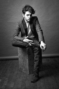 My favourite director, Xavier Dolan. His films are beautiful - works of art even, and he's only 24 years old. <3