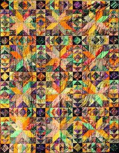Stars and Geese ~ Quiltworx.com  Made by Certified Instructor Judy Wurm