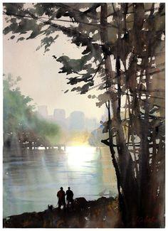 Thomas W Schaller: Northwest Watercolor Socierty #watercolorarts