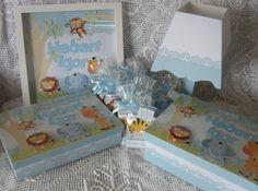 Quadro para Porta + Caixa para os documentos do bebê + Caixa Farmacinha + Bloquinhos decorados para Lembrancinhas + Abajur. Orçamentos pelo e-mail jannainamelo@ig.com.br