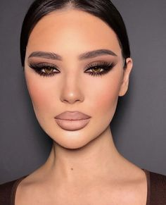 Classy Makeup, Cute Makeup, Glam Makeup, Pretty Makeup, Skin Makeup, Makeup Inspo, Eyeshadow Makeup, Makeup Inspiration, Beauty Makeup