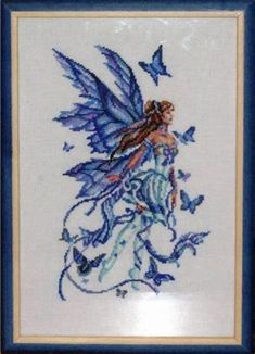 Image result for Free Fairy Cross Stitch Patterns Butterfly