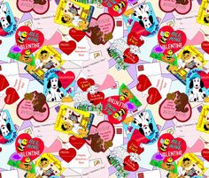 Kiddie Valentines fabric by mbsterling on Spoonflower - custom fabric