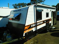 Are you looking for a new caravan in North Gosford, NSW? With over 43 years in the industry, new caravans for sale in our NSW Dealership can provide you with every comfort you will need. Double Bunk, Caravans For Sale, Cafe Seating, Car Finance, Bike Rack, Water Tank, Solar Panels, Cars For Sale, Recreational Vehicles