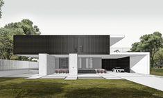 Villas, Divider Design, Boffi, Interior Architecture, Interior Design, Cool House Designs, Future House, Landscape Design, Behance