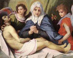 Andrea del Sarto - Lamentation of Christ