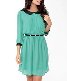 Pintucked Collar Dress | FOREVER21 - 2031556806