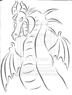 Maleficent dragon by Kezzamin on deviantART
