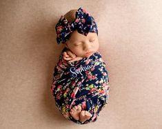 Personalized Baby Blanket Baby Girl Blanket Personalized Swaddle Blanket Baby Girl Coming Home Outfit Pink Floral Monogrammed Baby Blanket Toddler Blanket, Baby Girl Blankets, Stroller Blanket, Swaddle Blanket, Blanket Crochet, Crochet Baby, Breastmilk Storage Bags, Girls Coming Home Outfit, Personalized Baby Blankets