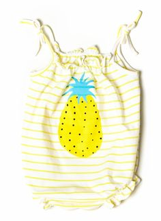 pineapple romper!