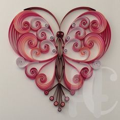 Quilling - Hearts on Pinterest | Quilling, Quilling Cards and ...