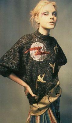 """Jessica Stam """"Ultraviolet Garden"""" by Craig McDean 2007 Jessica Stam, Look Fashion, High Fashion, Fashion Design, Fashion Trends, Lolita Fashion, Fashion Boots, Street Fashion, Gianni Versace"""