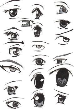 anime eyes - Google Search