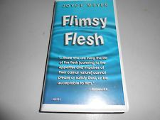 Closing the door to satanic attack joyce meyer 4 cassette tapes joyce meyer flimsy flesh 4 tape cassette audio book fandeluxe Image collections