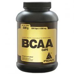 BCAA CAPS von Peak sind wieder da! 220 Kapseln nur CHF 29.90