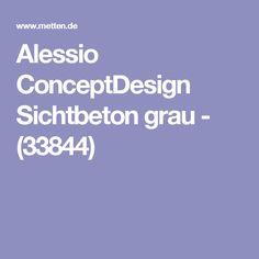 Alessio ConceptDesign Sichtbeton Grau   (33844)