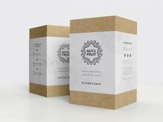 Nut&Fruit - eco packaging for dried fruits, nuts and seeds. Kraft Packaging, Tea Packaging, Pretty Packaging, Cosmetic Packaging, Packaging Ideas, Shirt Packaging, Clothing Packaging, Perfume Packaging, Design Packaging