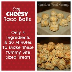 Super easy appetizer for holiday parties.  #recipe   carolinafoodstorage.com