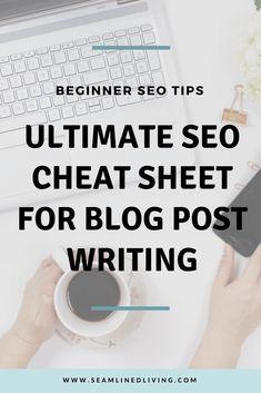 Learn how to add basic SEO elements to your blog posts! #SEO #digitalmarketing #blog #blogging #bloggingtips #howtoblog