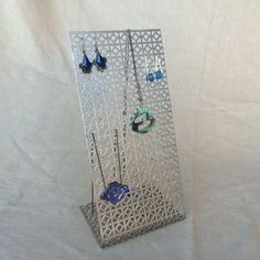 Large Hanging Jewelry Organizer Magnetic by JewelryDisplayChicks