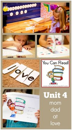 You Can Read Sight Words Unit 4 in action from @1plus1plus1 #kindergarten