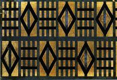 Liubov Popove - Textile Design (1923)