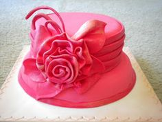 1000 Images About Ladies Cakes On Pinterest Hat Cake