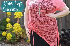 Inspired Wish: Style inspiration. One Top. 5 Looks! Wearing #TS14 and #Virtu