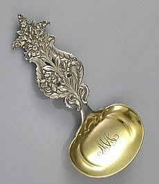 Tiffany & Co. Sterling Bon Bon Spoon I've worn out my old one. Vintage Silver, Antique Silver, Hildesheimer Rose, Cow Creamer, Gilded Age, Novelty Items, Silver Spoons, Tiffany Rings, Tiffany Jewelry