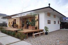 「中村好文 外構」の画像検索結果 Japanese Modern House, Small Tiny House, Rest House, Box Houses, Wooden House, Facade Architecture, House Goals, Simple House, Minimalist Home
