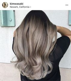 Hair Style Ideas : Illustration Description The Warm to Cool Blonde Hair Color Hacks Every Colorist Should Know – Hair Color – Modern Salon -Read More – Balayage Hair Blonde, Brown Blonde Hair, Brunette Hair, Ombre Hair, Ashy Blonde, Ash Brown Bayalage, Ash Blonde Balayage Dark, Grey Ash Blonde, Haircolor