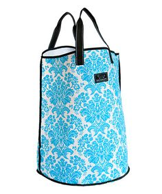 Another great find on #zulily! Teal Damask Dirty Myrtle Tote by SCOUT by Bungalow #zulilyfinds