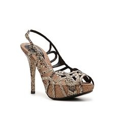 Dolce & Gabbana Reptile Leather Slingback Sandal.  Just bought these beautiful shoes!!