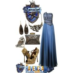 A fashion look from January 2013 featuring prom gowns, metallic handbags and owl ring. Browse and shop related looks.