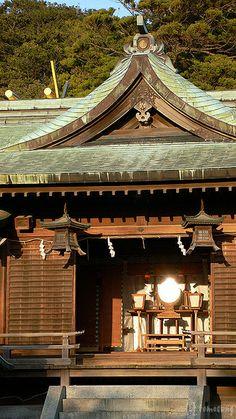 Miyajidake shrine  Fukutsu-city, Fukuoka, Japan