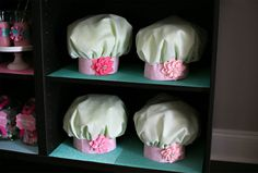 Chef Hats {Baking Party}