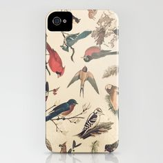 Vintage Songbirds iPhone Case