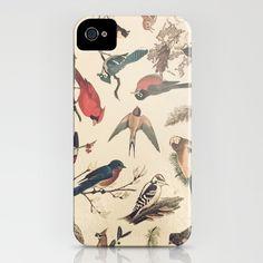 Vintage Songbirds iPhone Case