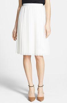 pleat chiffon skirt / chelsea28