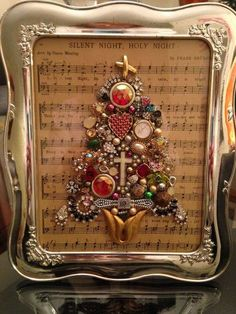 Jewel Christmas Trees