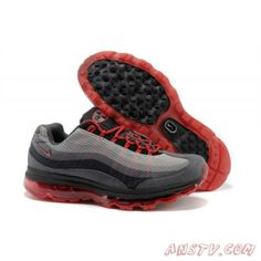 online retailer 953bd bbbce Air Max Homme Nike Air Max 95 DYN FW Rouge Gris Noir Hommes de Course