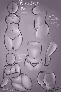 Figure Drawing Reference Bases para croquis plus size Pencil Drawing Tutorials, Art Tutorials, Pencil Drawings, Art Drawings, Body Drawing, Woman Drawing, Figure Drawing, Drawing Women, Drawing Techniques