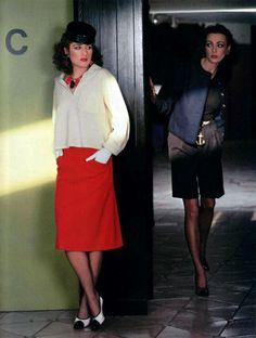 88229ac1fed5a Saint Laurent Rive Gauche. L Officiel magazine 1979