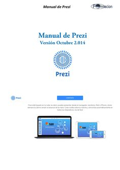 Manual de prezi (octubre 2.014) by eLMformacion via slideshare