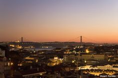 Lisbon, Portugal - The azure sky over Lisbon, long hours of summer sunshine and golden sunsets are factors that ensure many visitors go home with fond memories and great photographs of the Portuguese capital. @StuartForster