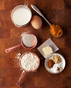 in the kitchen with: martha bernabe's pumpkin pancakes | Design*Sponge