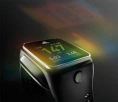Adidas miCoach Smart Run Smart Watch Announced - The Adidas miCoach Smart Run features a 1.45 inch full color display with a resolution of 184 x 184 pixels, it runs on Google's Android platform with Android 4.1.1 Jelly Bean. | Geeky Gadgets